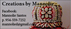 Creations by Mannolie Ad