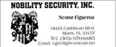 Nobility Security Ad