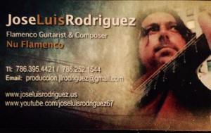 Jose's card