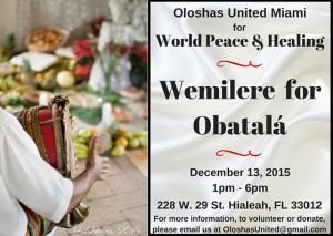 Wemilere Obatala - English
