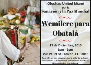Wemilere Obatala - Spanish